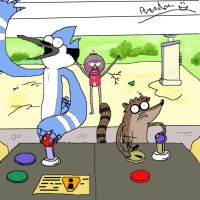 Regular show by Trentagon