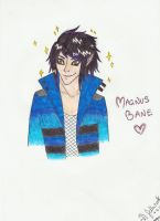 Magnus Bane coloured by honest-liar-13
