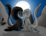 Love Under the Moon by Shadow-Aspect