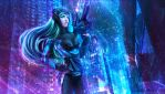 Nanotech Caitlyn - League of Legends by MagicnaAnavi