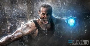 Isaiah Mustafa is Luke Cage by 11dy
