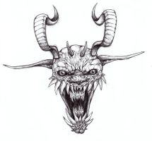 Demon, now in the color Bic by ThaHellion