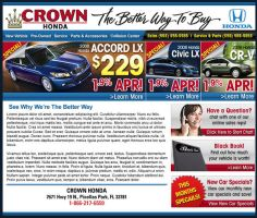 Crown Cars Home Page Design 4 by xstortionist