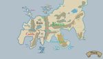 Theah - Political Map - Simple by hanncommander