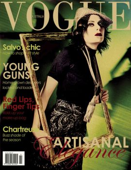 Vogue Cover-Artisanal Elegance by Ms-Forks