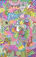 colorful zentangle by rancid-roses