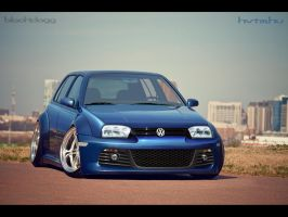 Volkswagen Golf III by blackdoggdesign