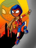 collab.:Spidey:. by Cintia-the-Cat
