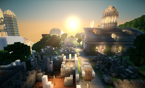 Isle of the Makers - Ruined City 2 by Epic-nesFactor