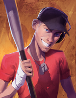 TF2 Scout by Makkon