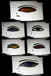 eyes practice 3 by queenofexecutions
