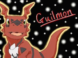 Guilmon by Eelune