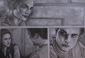 Edward Cullen....school scene by seminko