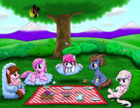 Picnic With Close Friends [Req] by LifesHarbinger
