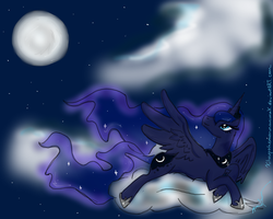 Princess Luna by PandaberryX3