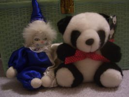 Panda and Doll by Hannah2070