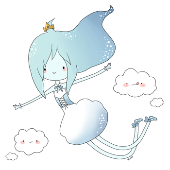 Cloud Princess by yunitea
