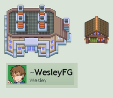 Pokemon Forever Lost Tileset Part 2 by WesleyFG