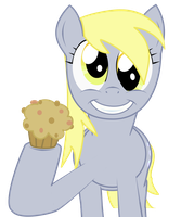 Derpy Hooves made you a muffin by Goomuin