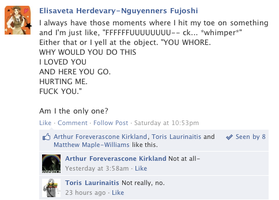 Hetalia Facebook: Owie by gilxoz-epicness