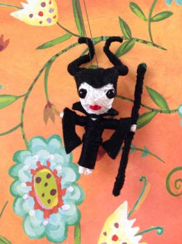 Maleficent String Doll by Quendrega
