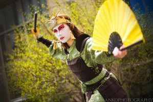 Kyoshi Warrior Suki (AB12) by Syagria