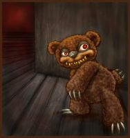 Scare Bear by Blattaphile
