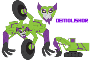 Transformers Neo - DEMOLISHOR by Daizua123