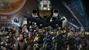 Halo UNSC Characters (Updated 12-06-2015) by KILLthatThing