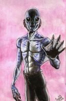 For Tarpalsfan, Abe sapien. by smeagolisme