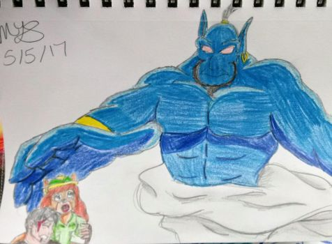 Trade: Beware The Genie by CowgirlMickey