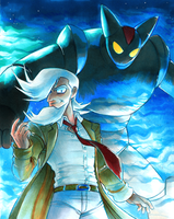 Tetsujin 28 - Dr. Franken and Black Ox by Strixic