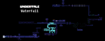 Undertale Complete Map - Waterfall by HigurashiKarly