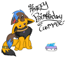 happy bday curvee by Niv-Ryo