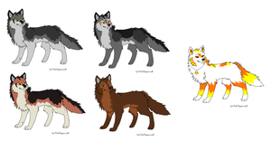 Wolf Point Adopts by Sinful-Souls