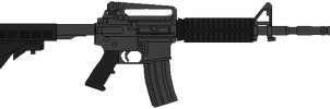 US Army Carbine M4 by DaltTT