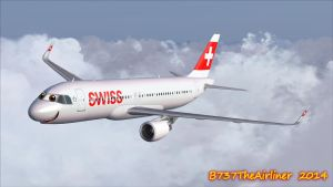 Adorable Swiss A320 by B737TheAirliner