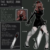 CreepypastaOC:The nurse ANN by yaguyi