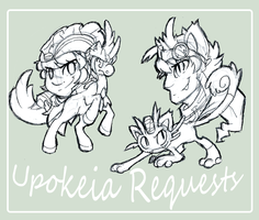 Upokeia Requests and stuff by keldeos