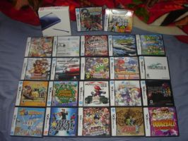 My Nintendo DS Collection by Sir-Genesis