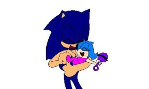 sonic and baby beu by Bleuthehedgehog