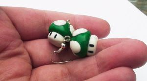 1UP Earrings by naga-kkw87