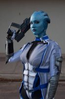 Silent Hope - Liara cosplay by Soylent-cosplay