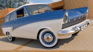 1957 Ford Taunus 17M P2 by SamCurry