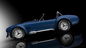 Shelby Cobra Studio Render by Kadamx