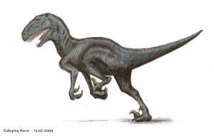 Deinonychus by RivenPine