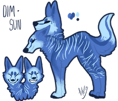 Dim and Sun Reference Sheet by Kama-ItaeteXIII