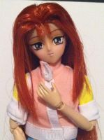 Serenity Wheeler Volk doll up close by floraiji30