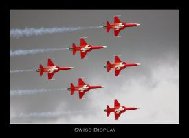 Swiss Display Team by Anzxio