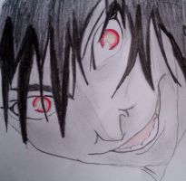 Mikami's rape face (as named by my sister) by wingednekoX